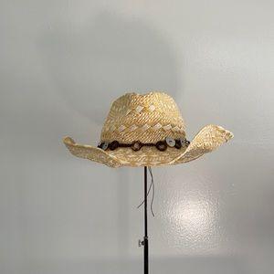 Panama Jack Straw Summer Cowgirl Hat